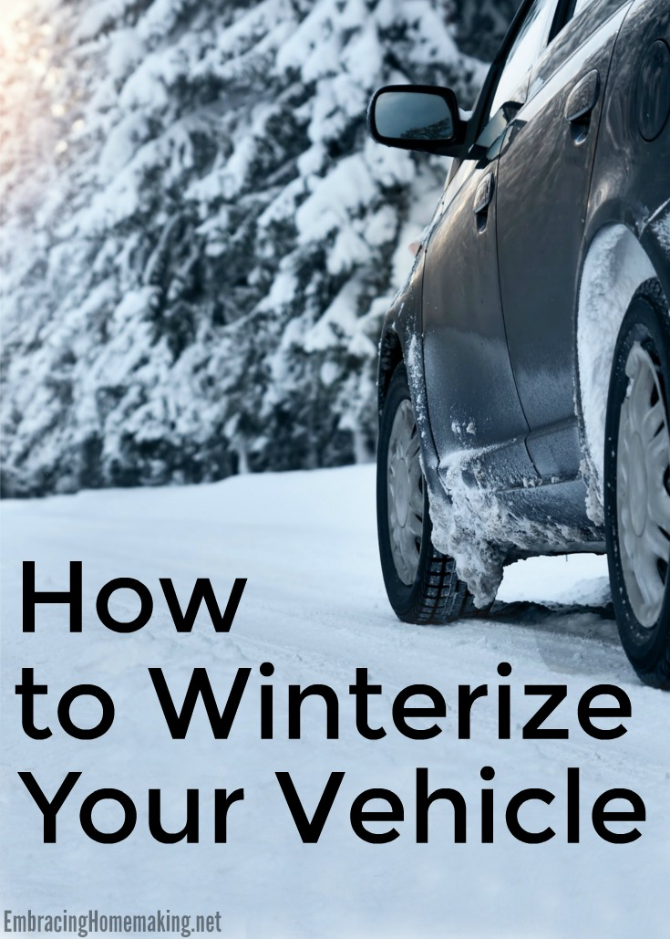 Winterize a Vehicle