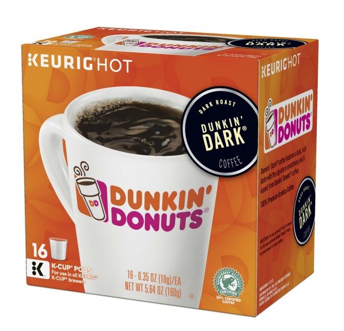Dunkin Donuts Dunkin Dark