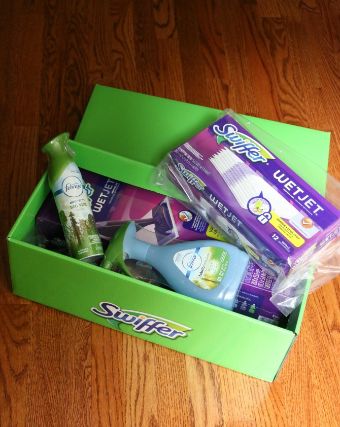 Swiffer Green Box