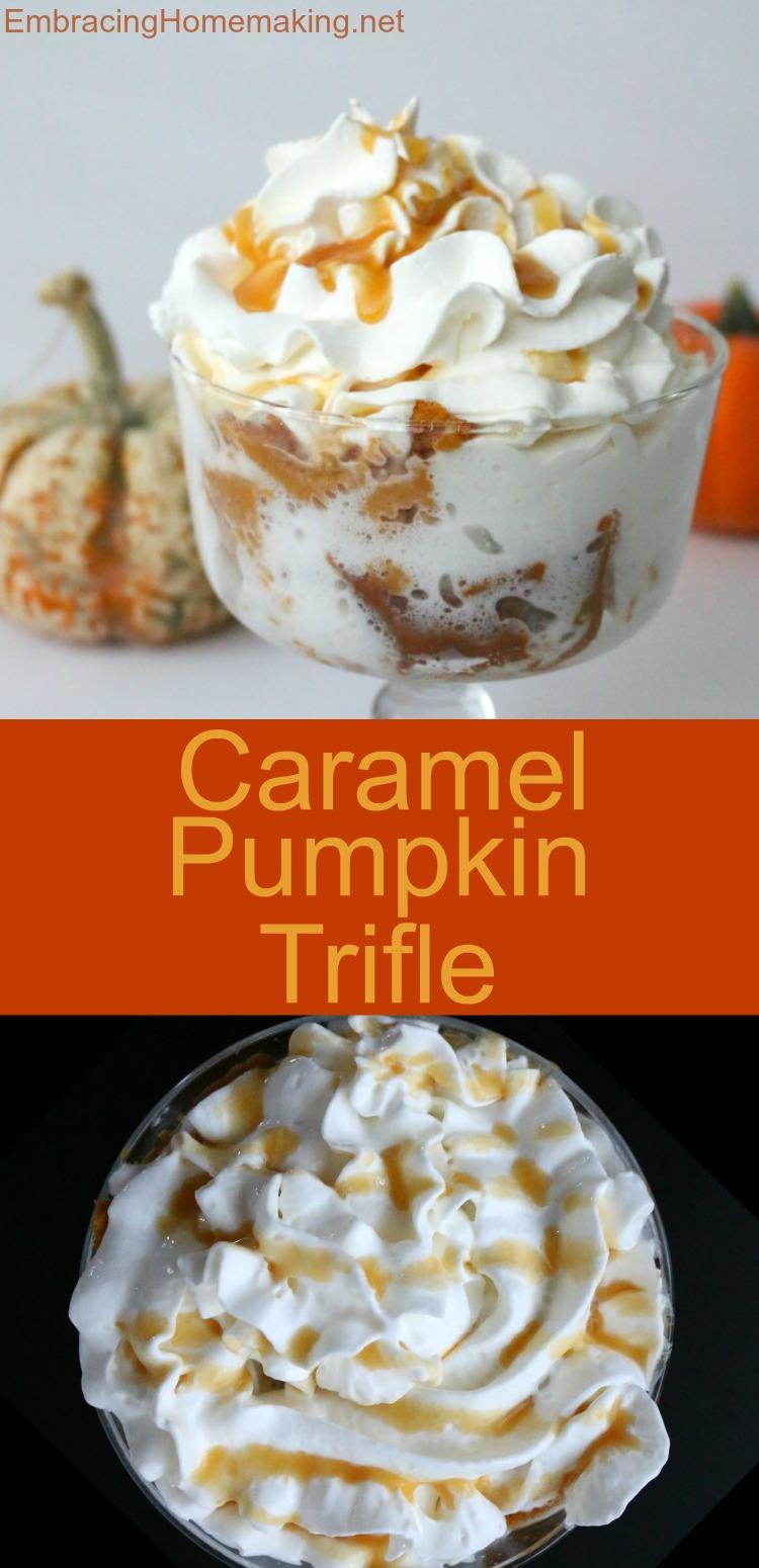 Caramel Pumpkin Trifle