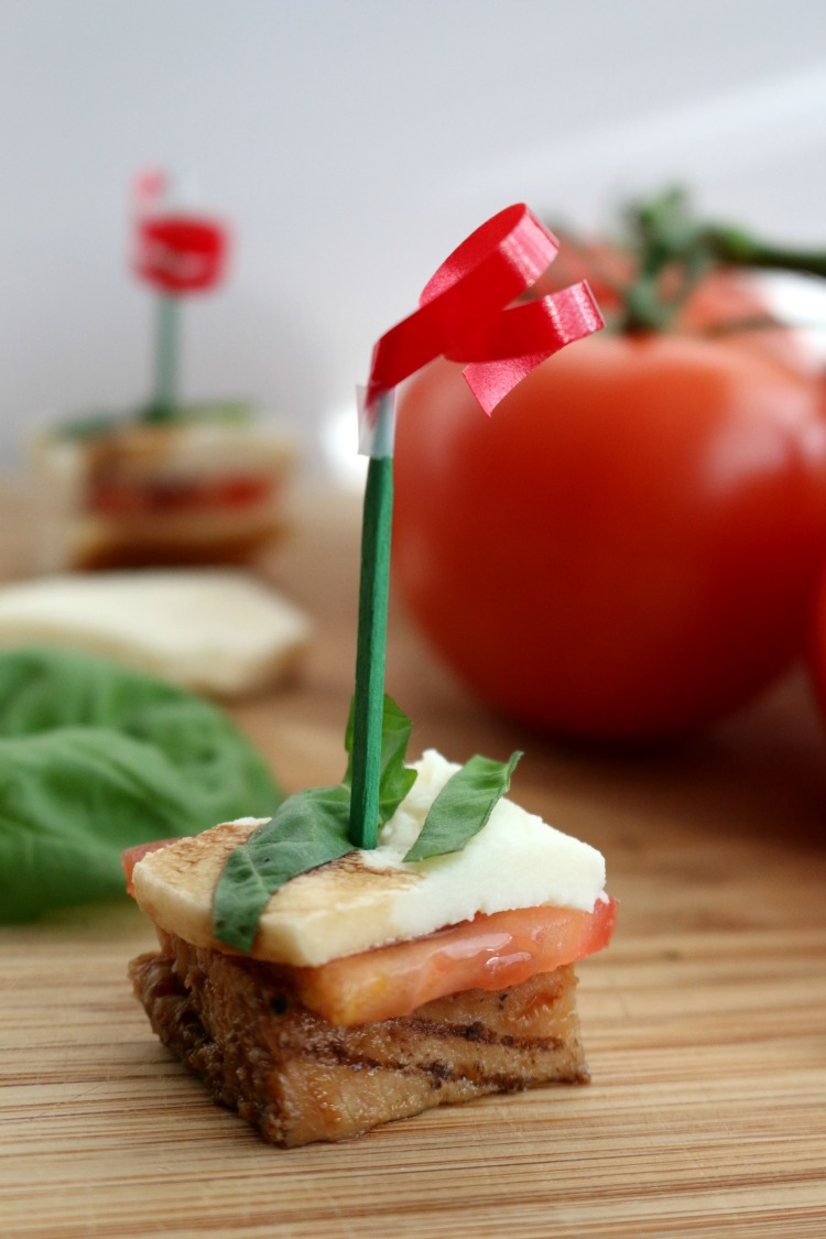 Chicken Caprese Appetizer