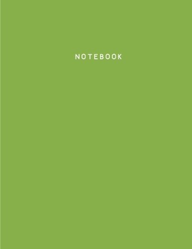 Greenery Notebook