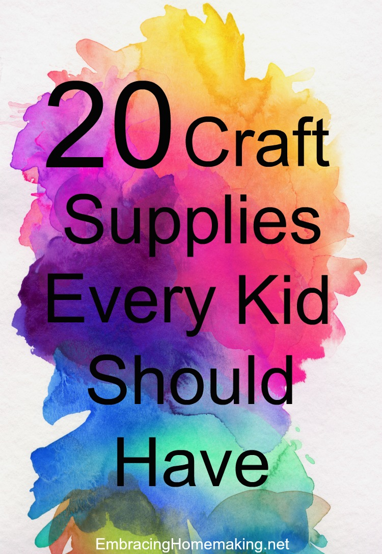 Kid Craft Supplies