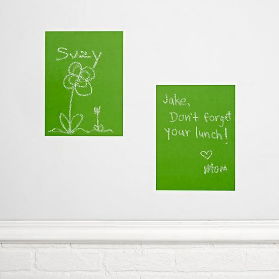 Green Chalkboard Decals