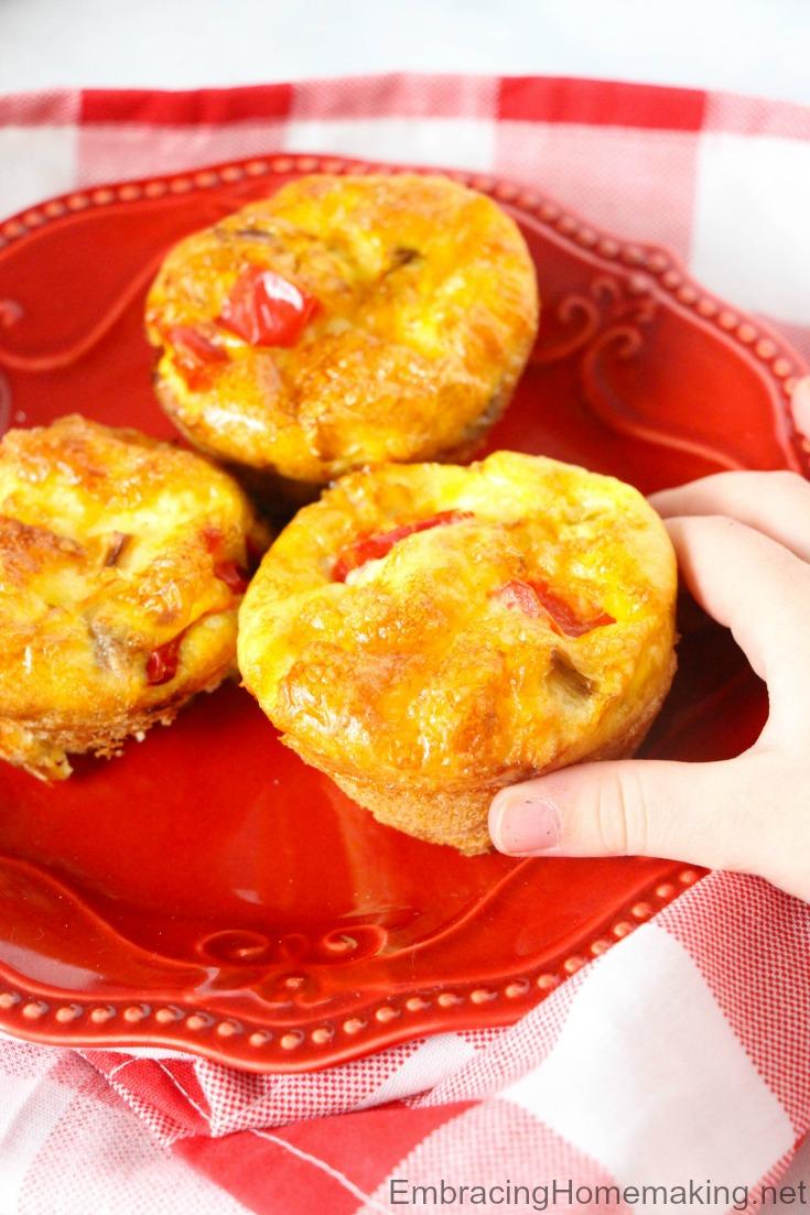 Mini Egg Frittatas