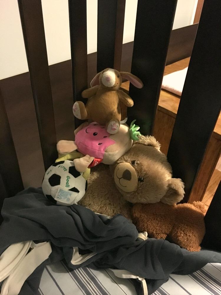 Pyramid of toys