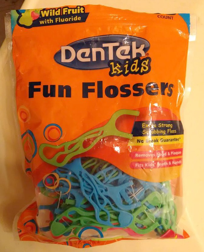 DenTek Kids Fun Flossers