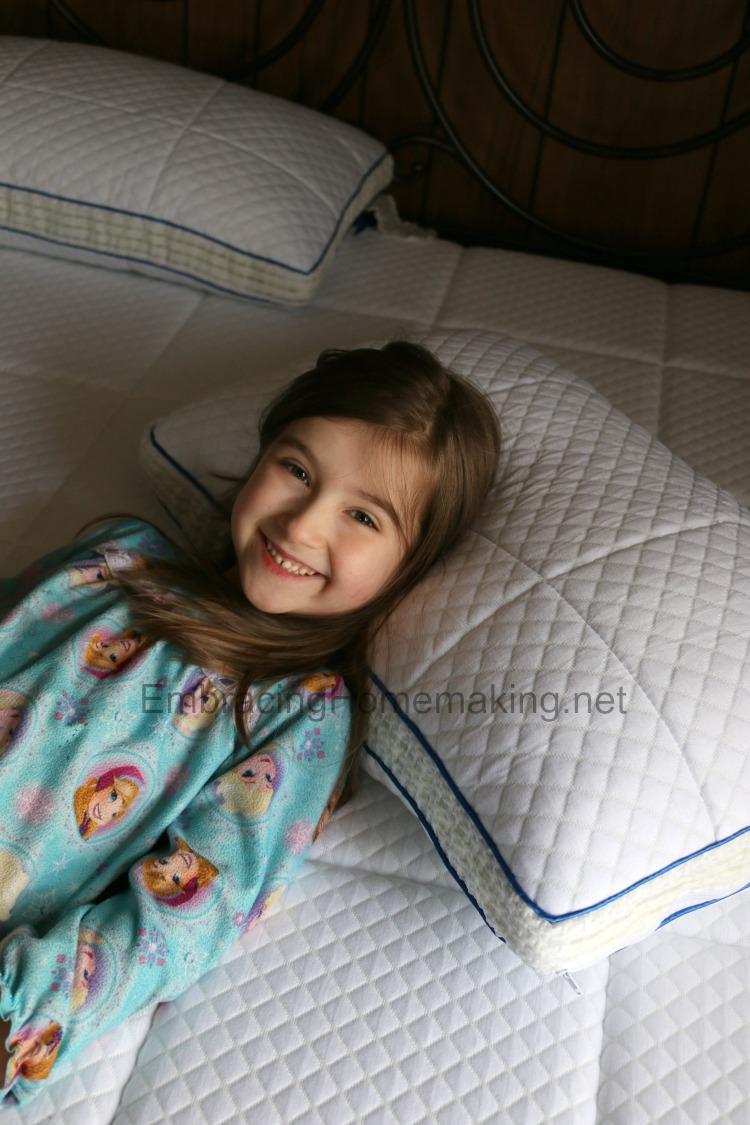 Girl on Nectar Bed