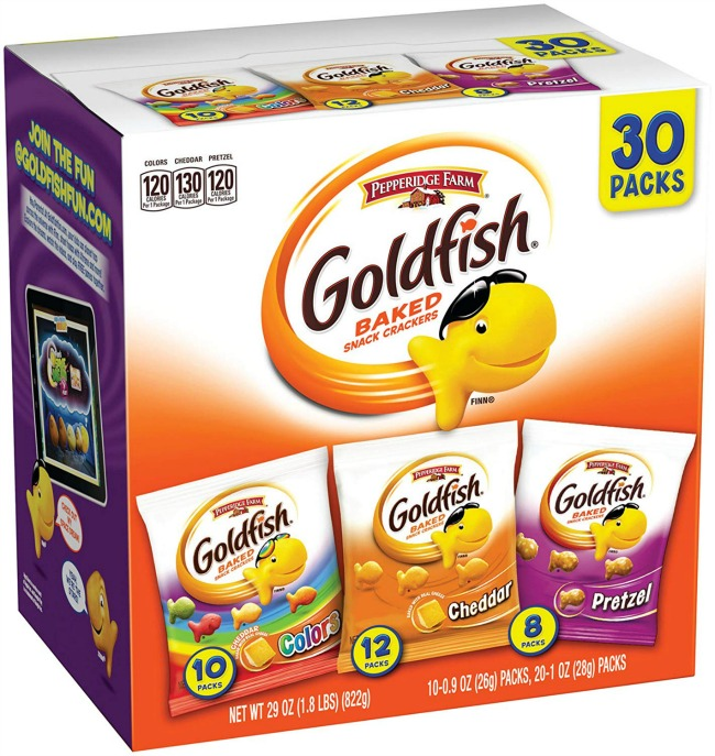 Goldfish Snack Packs
