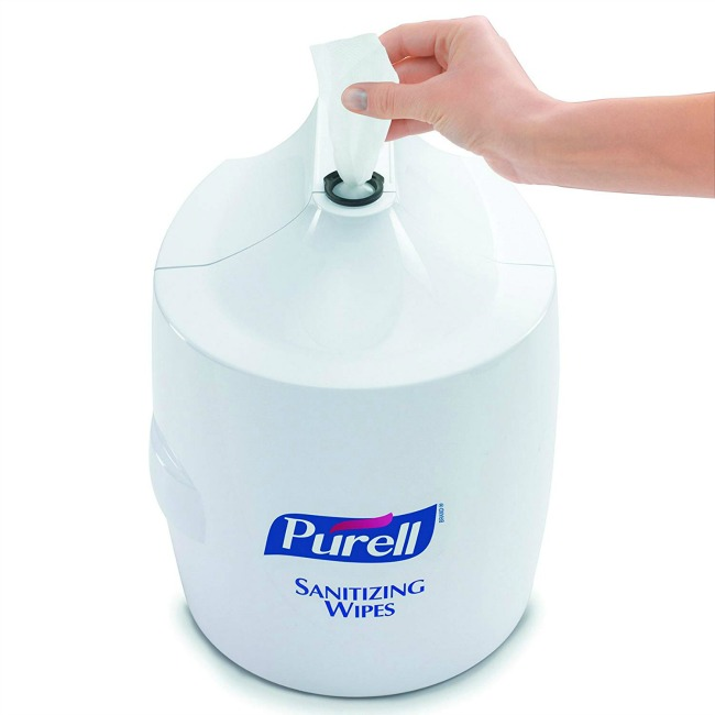 Purell Hand Sanitizing Wipes Dispenser