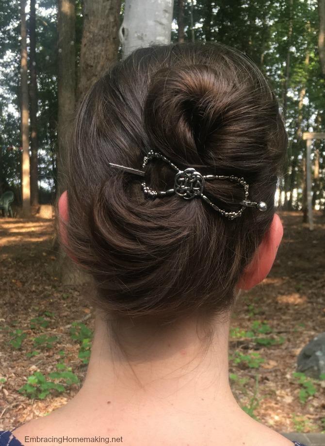Celtic Knot Hair Clip