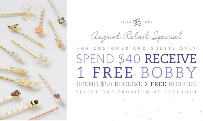 Lilla Rose August Sale