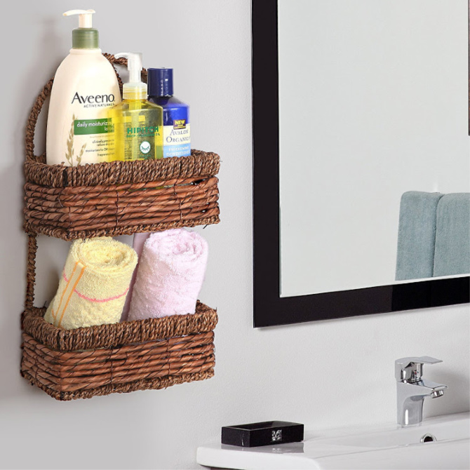 Bathroom Wall Basket