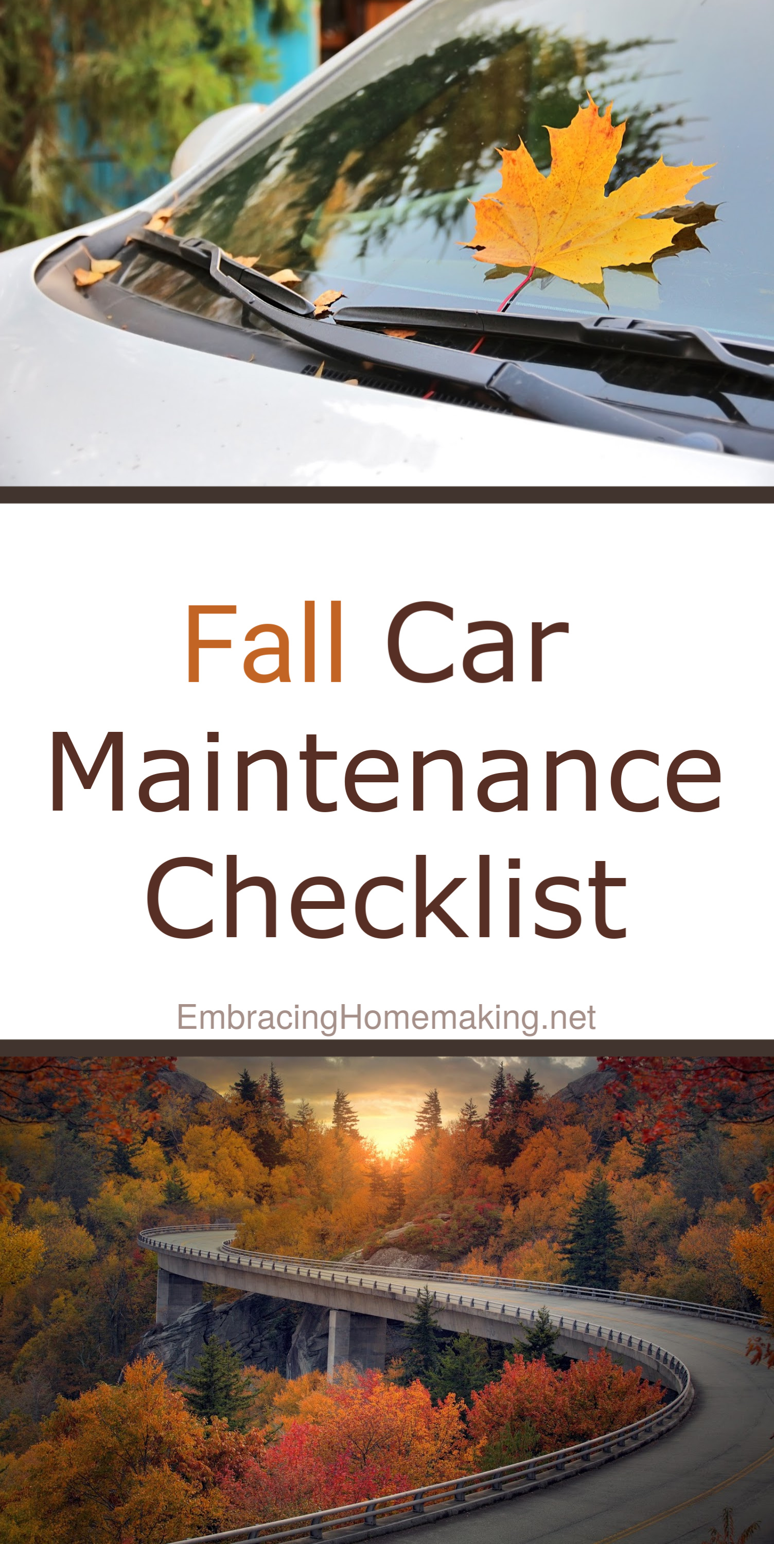 Fall Car Maintenance