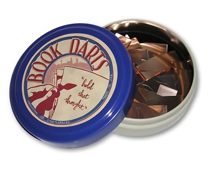 Book Darts Bookmark