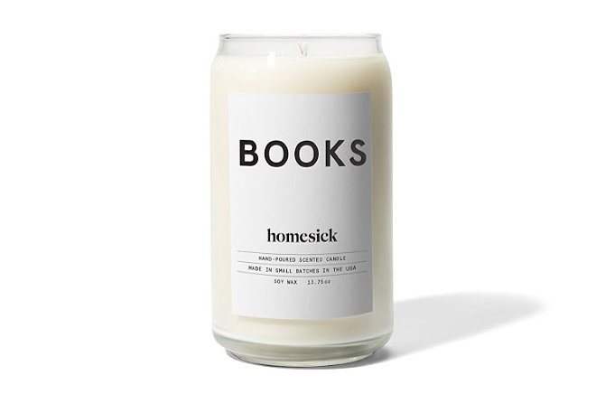 Book Scented Candle