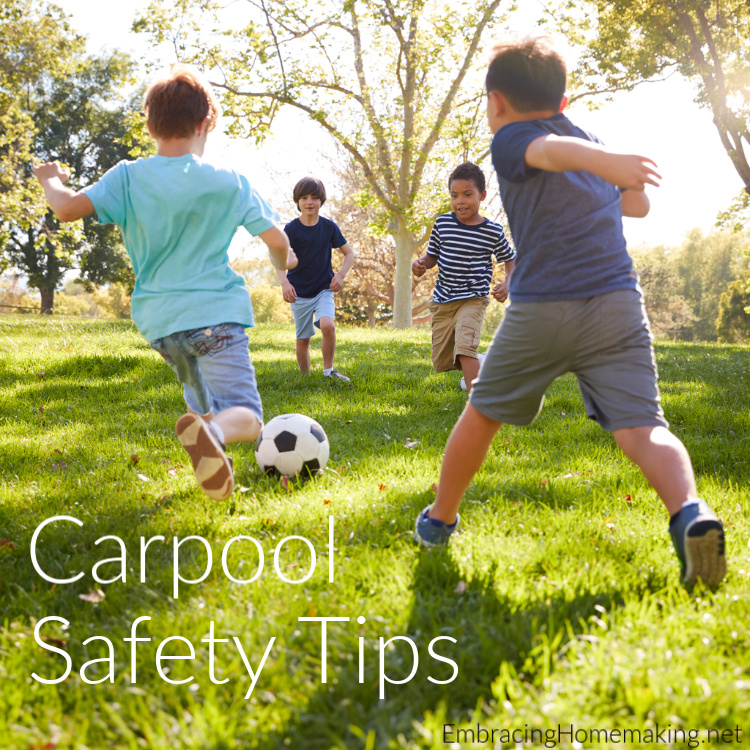 Carpool Safety Tips