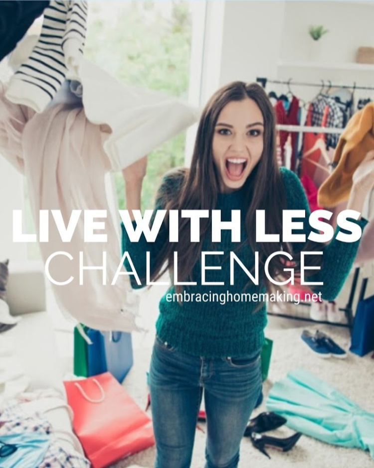 Declutter Live With Less Challenge