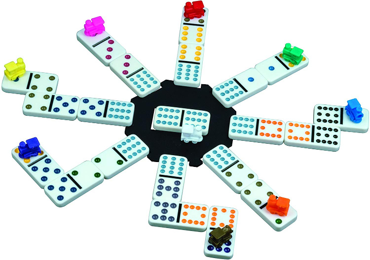 Dominoes Mexican Train