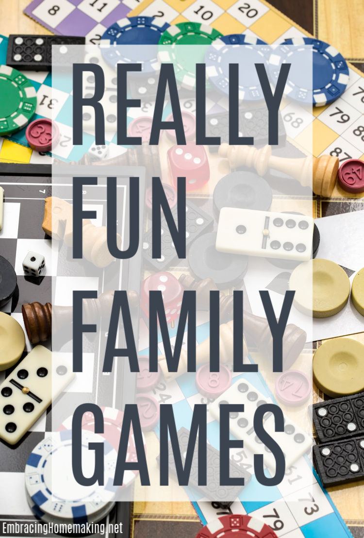 Really Fun Family Games